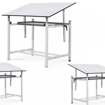 Estructura mesa dibujo profesional 100x73x70 cm