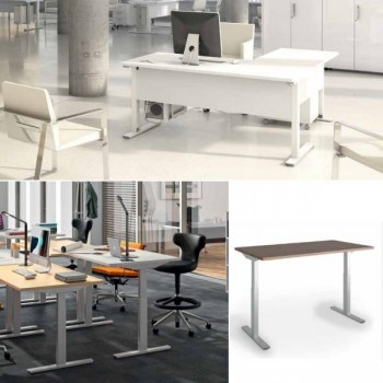 Ala de 60cm para mesa rectangular serie Iog in encimera roble 100x60x75cm.
