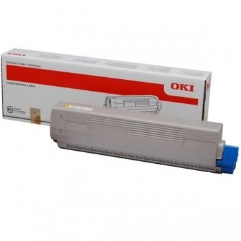 OKI Toner laser C710 NEGRO original 11k