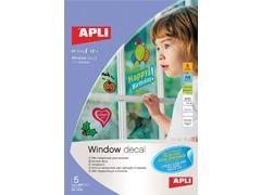 APLI Film A4 adhesivo para ventanas
