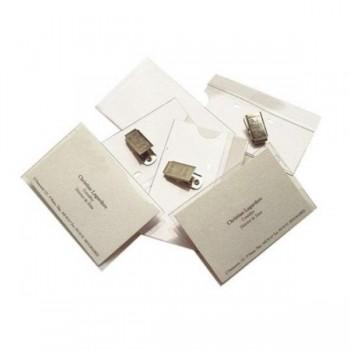 ARTES Tarjeta de identificacion con pinza metalica 60x90 c-50