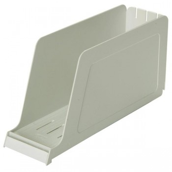 ELBA Cassettes de plastico 165x337x98 (revistero) GRIS