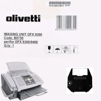 OLIVETTI unidad de imagen B0750 2,4k negro original OFC9300/9400