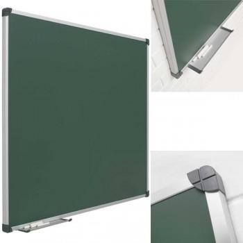 PS Pizarra mural verde con marco de aluminio
