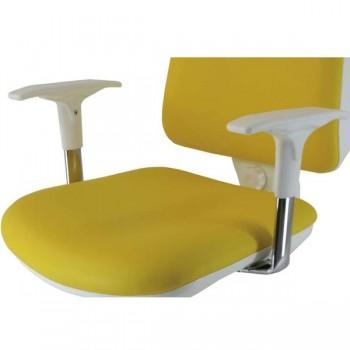 Vincolo Juego brazos regulables PVC para silla Orbital White