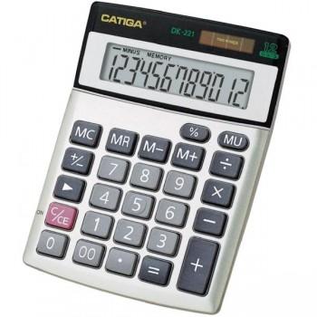 CATIGA Calculadora sobremesa pequeña 12 dig.dk-221