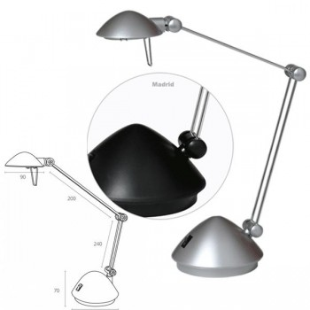 Lámpara halogena cambre 5030 negra