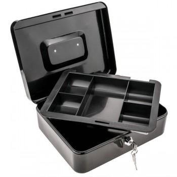 NOVAPLUS Caja caudales 25cm negro mate