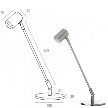 Lámpara articulada leds sisargas