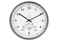 Reloj tempus con termometro radio controlado diam 30,5cm