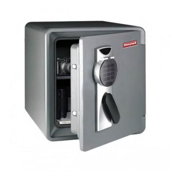 Caja de seguridad electrónica ignifuga y hermética Olle estanteríaa regulable 45,8x45x49,1cm