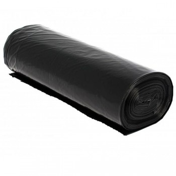 Caja bolsas basura negra de 25 rollos de 10 uds 85x105cm