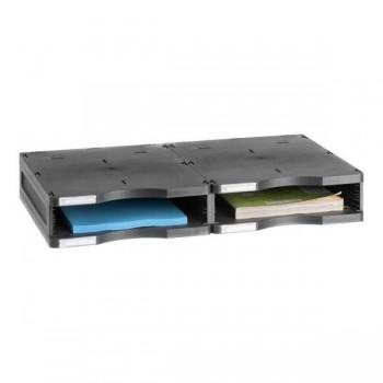 Ampliación válida para los modelos Archivodoc duo jumbo y estándar 36x60x7 cm color gris