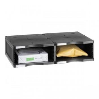 Ampliación válida para los modelos Archivodoc duo jumbo y estándar 36x60x13 cm color gris