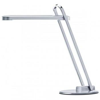 Lámpara led Firenze 6w. diseño robusto base metálica color plata
