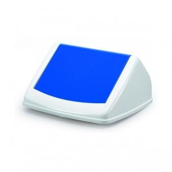 Tapa para contenedor Durabin 40 litros 17x31,5x32,5cm color azul