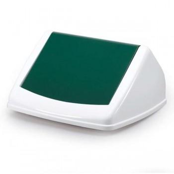 Tapa para contenedor Durabin 40 litros 17x31,5x32,5cm color verde