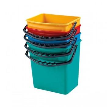 Pull Cubos cuadrados auxiliares 6l. 19x25,5x24,5 cm. amarillo