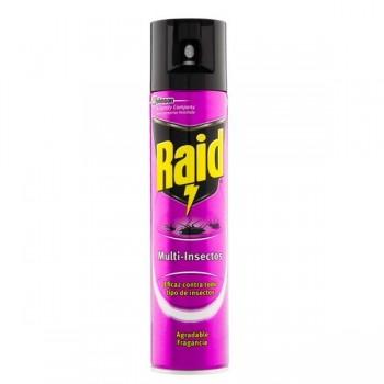 Raid Insecticida Raid multi-insectos 400 ml.