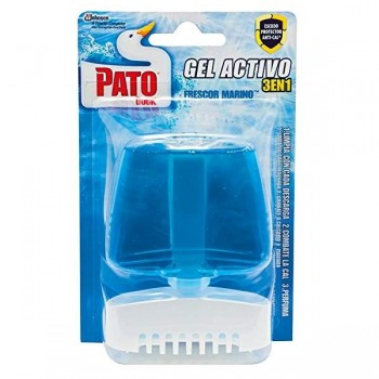 Pato Aparato colgador líquido Pato gel activo Marine