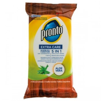 Pronto Paquete 25 toallitas Pronto aloe vera