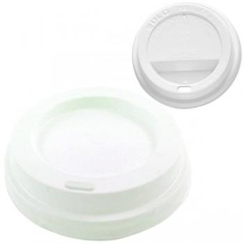 Bunzl Paquete 1000 tapas blancas compostables para vaso