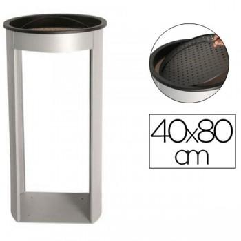 Sie Cenicero de pie metálico para exteriores 80x 40 cm.