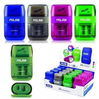 MILAN Afilaborras compact (afilador doble + goma 430)