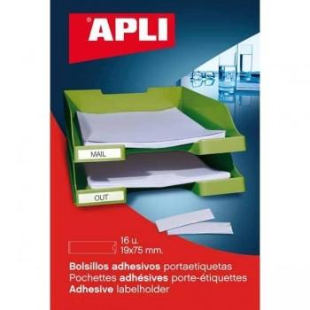APLI Bolsillo portaetiquetas adhesivos (p6)