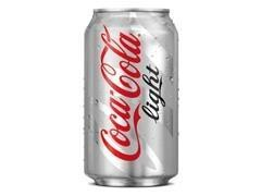 Lata coca cola light 330 ml