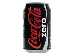 Lata coca cola zero 330 ml