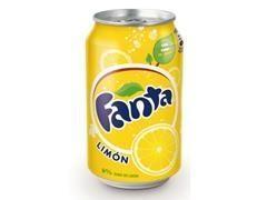 Lata fanta Limón 330 ml