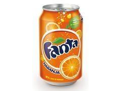 Lata fanta naranja 330 ml