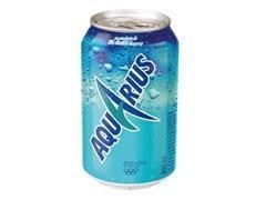 Lata aquarius limón 330 ml