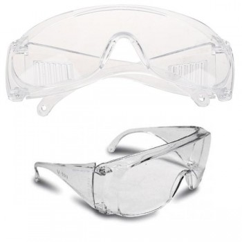 Gafas protectoras de plástico resistente
