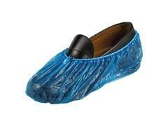 Pack 100 cubrezapatos de plástico azul