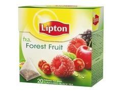 Caja 20 bolsas de té lipton frutas rojas
