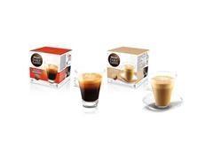 Estuche 16 cápsulas de 7 gr. de café monodosis café con leche