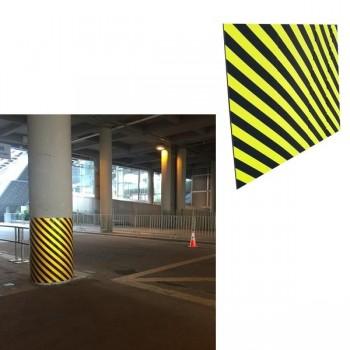 Protección para columnas de gomaespuma adhesiva 1500x1000x20 mm