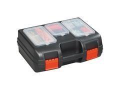 Maletín herramientas polipropileno 405x300x155 mm negro