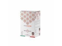 Caja 50 cápsulas monodosis Mokamore descafeinado