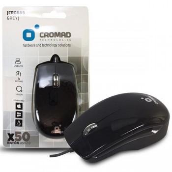 CROMAD Raton X50 USB negro