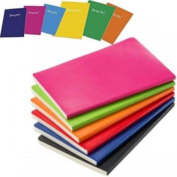Libreta grapada GALLERY folio 70gr 50h 4X4 colores surtidos
