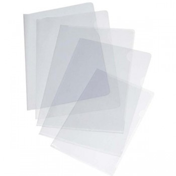 MUSSO Dossier uñero PVC.110 micra transparente folio