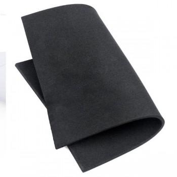 Hoja Goma eva para manualidades negra