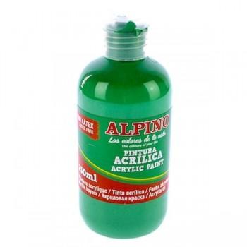ALPINO Tempera liquida 250ml. acrilica VERDE CLARO