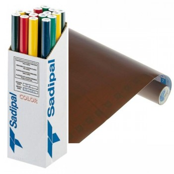 Rollo forro Libros autoAdhesivos 100 micras 0,50X3M marrón