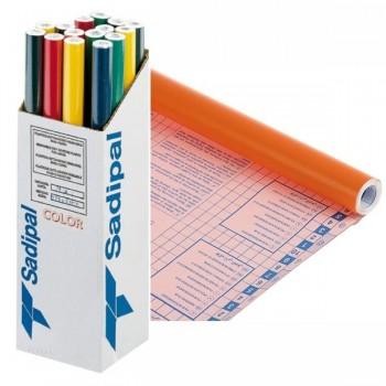 Rollo forro Libros autoAdhesivos 100 micras 0,50X20m naranja