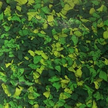 Bolsa 200 gr. de virutas de goma eva verde