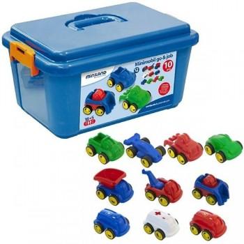 Contenedor school set minimobil 10 uds colores surtidos